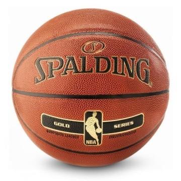 Balon Baloncesto Spalding NBA Gold Series No. 7