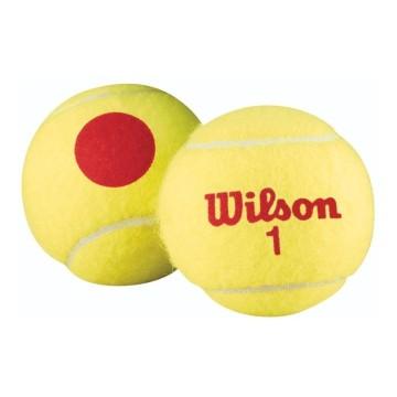 Bolas para Tenis KIDS Wilson US OPEN RED