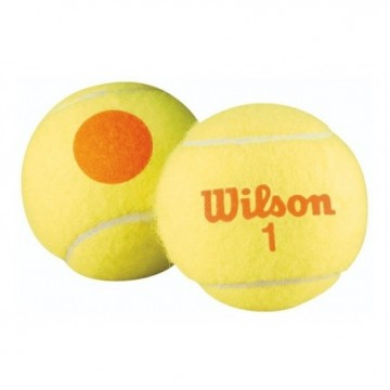 Bolas de Tenis KIDS Wilson US OPEN ORANGE